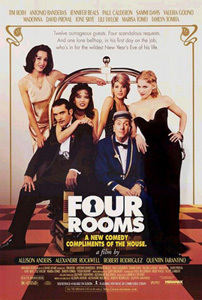 The <i>Four Rooms</I> movie is released in the USA.