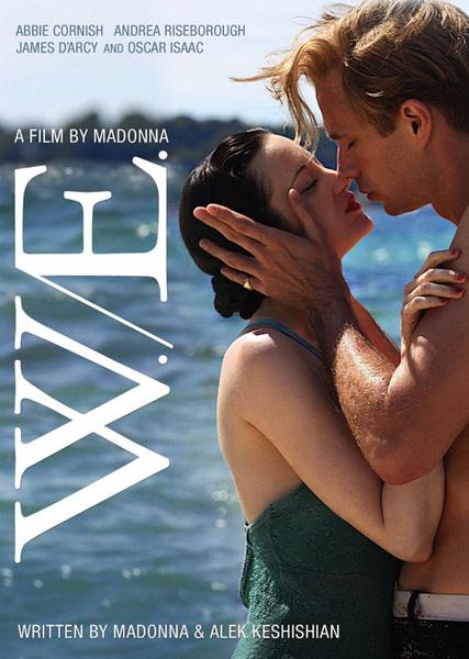 Capa do DVD e Blu-ray do filme W.E. de Madonna