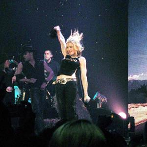Madonna plays Brixton Academy, London