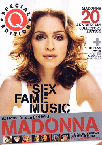 Q Magazine releases its special Madonna issue.