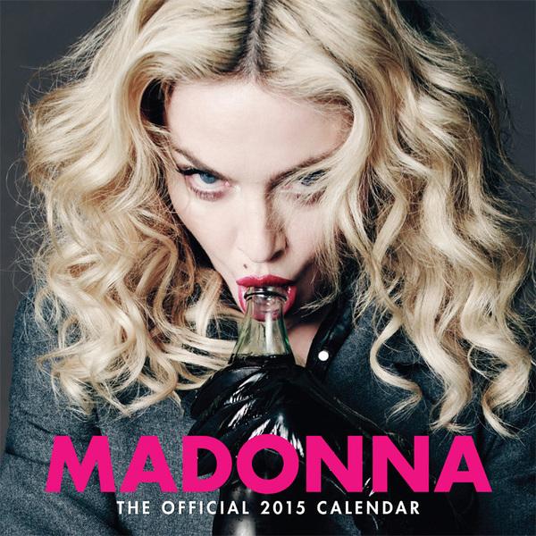 Pre-order Madonna's 2015 Calendar Now!