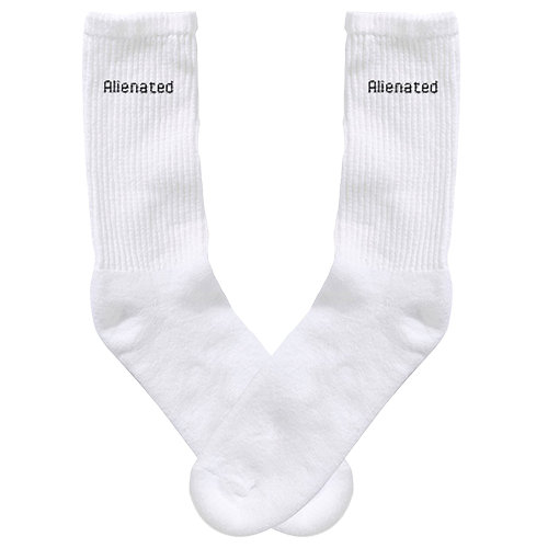 ALIENATED SOCKS