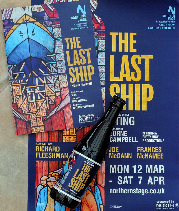 Sting | News | The Last Ship opens UK run at Northern Stage