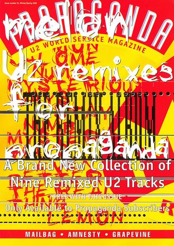 U2 Gt Gallery Gt Propaganda Covers