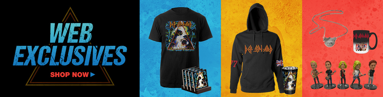 83052aad Def Leppard Official Store