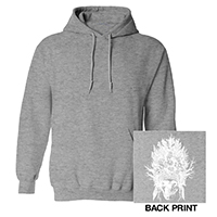 Skull Headdress Pullover Hooded Sweatshirt
