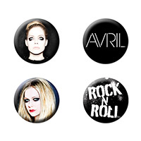 Avril Lavigne Button Pack