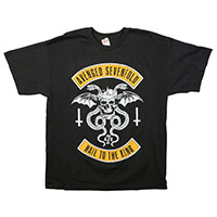 Hail To the King Upside Down Men's Tee