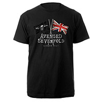 Flags London 2017 Black T-shirt