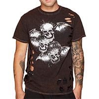 Deathbat Destroyed Shirt