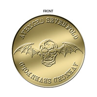 Brass colored Challenge Coin