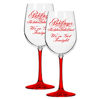 We've got tonight Wine Glass set