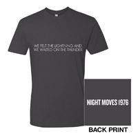 Night Moves Lyric Tee