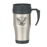 Vintage Eagle Travel Mug