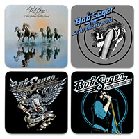Set of 4 Bob Seger coasters