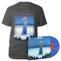 Ramblin' Gamblin' Man 150 gram blue Vinyl & Lucy Blue Tee