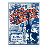 The River Chicago Event Poster