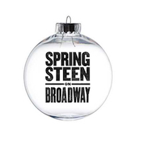 Springsteen on Broadway Ornament