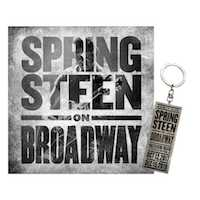 Springsteen on Broadway CD + Keychain Bundle