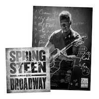 Springsteen on Broadway CD + Litho Bundle