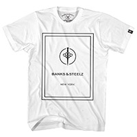 BANKS & STEELZ NEW YORK LOGO TEE