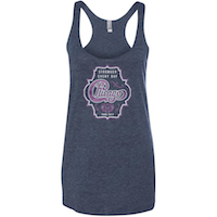 Chicago Women's Glitter Tank