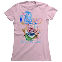 Chicago Women's Color My World Tee