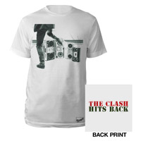 Hits Back Text Tee