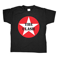 The Clash Red Star Toddler Tee