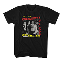 London Calling Japan Black T-shirt