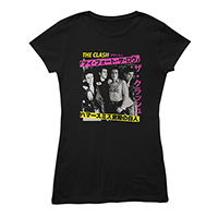 London Calling Japan Black Ladies T-shirt