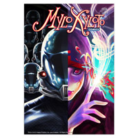 Mylo Xyloto Comic Book Lithograph