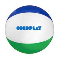 Coldplay Logo Beach Ball