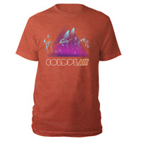 Coldplay Live Stage Photo Men's Tee
