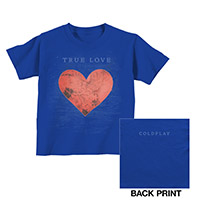 Coldplay True Love Kids Tee
