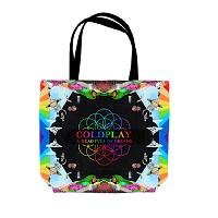 Coldplay Vinyl Tote Bag