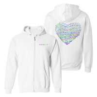 AHFOD Lyric Full-Zip Unisex Hooded Sweatshirt