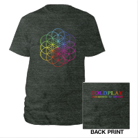 Flower Of Life Tri-Blend Track Shirt