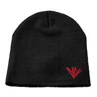 Red Signature Beanie