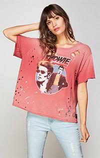 David Bowie Boxy Tee