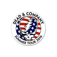 Dead & Company Button
