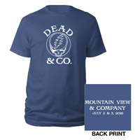 Mountain View Dead Event Tee