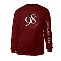 Let It Snow Long Sleeve Tour Tee