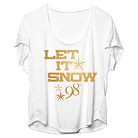 Let It Snow Ladies Dolman