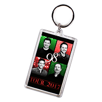 Christmas Tour Keychain