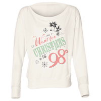 All I Want For Christmas Women's Long Sleeve