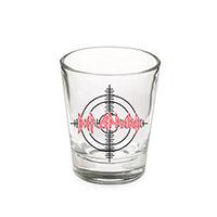 Def Leppard Target Shot Glass