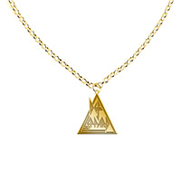 Triangle Logo Necklace