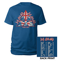 Union Jack Live Shots Tour Tee