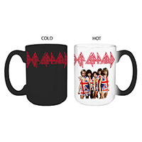 Union Jack Band Photo Heat Reveal Mug